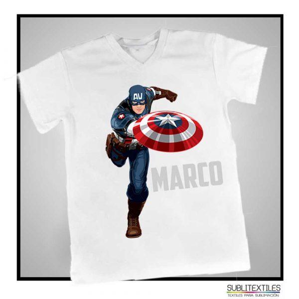 Camiseta para sublimar para niño