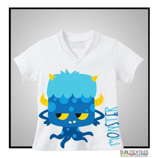 Camiseta Sublimable niño/niñaMod. Corte Único