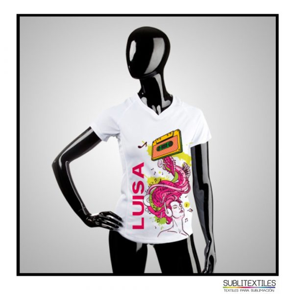 camiseta dry fit mujer