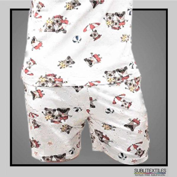 short de pijama para hombre