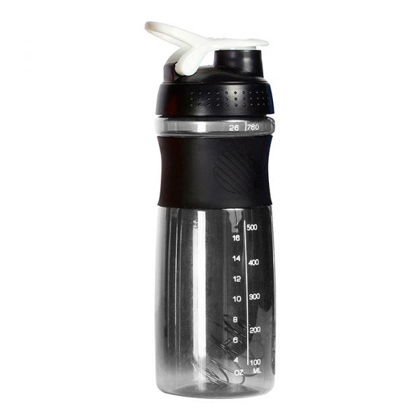 Botella Mezcladora Byron gris