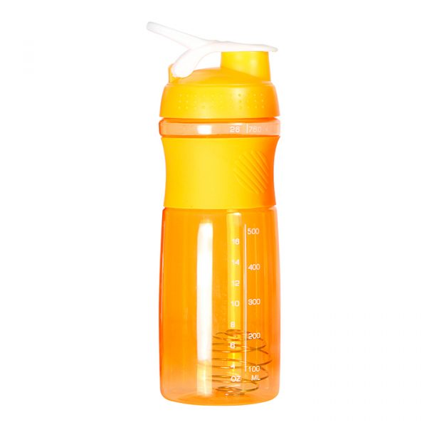 Botella Mezcladora Byron naranja