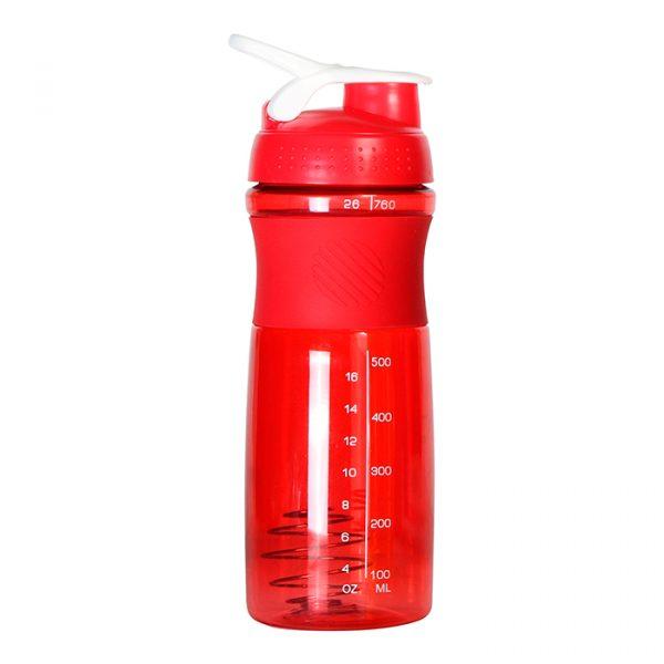 Botella Mezcladora Byron roja